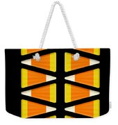 Halloween Candy Corn Weekender Tote Bag