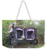 Halloween Carriage Weekender Tote Bag