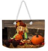 Halloween Doll Weekender Tote Bag