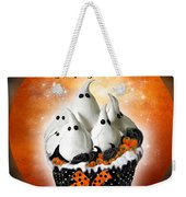 Halloween Ghost Cupcake 1 Weekender Tote Bag