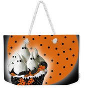 Halloween Ghost Cupcake 2 Weekender Tote Bag