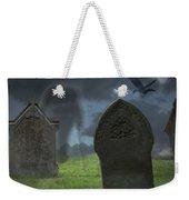Halloween Graveyard Weekender Tote Bag