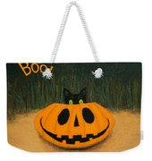 Halloween Kitty Boo Weekender Tote Bag
