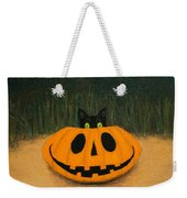 Halloween Kitty Weekender Tote Bag