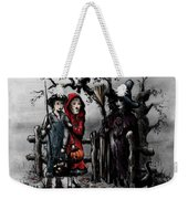 Halloween Night Weekender Tote Bag