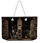 Halloween Skeleton Weekender Tote Bag