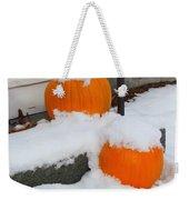 Halloween Snow Weekender Tote Bag