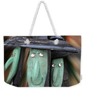 Halloween Witch Way Is The Candy Weekender Tote Bag