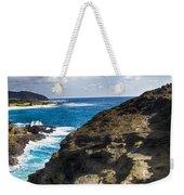 Halona Blowhole Lookout- Oahu Hawaii V2 Weekender Tote Bag