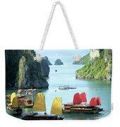 Halong Bay Sails 01 Weekender Tote Bag