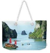 Halong Bay Sails 03 Weekender Tote Bag