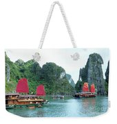 Halong Bay Sails 04 Weekender Tote Bag