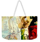 Halucinogenic Toreador By Salvador Dali Weekender Tote Bag by Henryk Gorecki