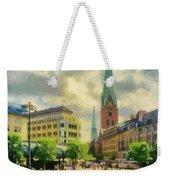 Hamburg Street Scene Weekender Tote Bag