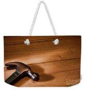 Hammer On Wood Weekender Tote Bag
