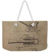 Hammer Patent Drawing Weekender Tote Bag