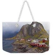 Hamnoy Rorbu Village Weekender Tote Bag