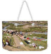 Hampi Bathing Ghats Weekender Tote Bag