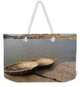 Hampi River Scenes Weekender Tote Bag