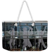 Hampshire County Cricket Glass Pavilion Weekender Tote Bag