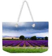 Hampshire Lavender Field Weekender Tote Bag by Terri Waters