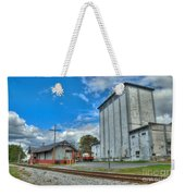 Hampstead Train Station And Grain Mill Weekender Tote Bag
