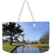 Hampton Court Palace Moat England Weekender Tote Bag