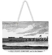 Hampton, Virginia Forts Weekender Tote Bag