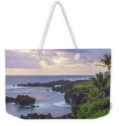 Hana Arches Sunrise 3 - Maui Hawaii Weekender Tote Bag