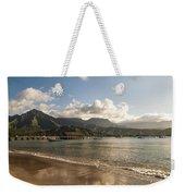 Hanalei Bay Pier - Kauai Hawaii Weekender Tote Bag