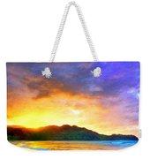 Hanalei Sunset Weekender Tote Bag
