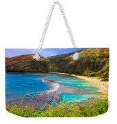 Hanauma Bay In Hawaii Weekender Tote Bag
