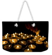 Hand Lighting Candles Weekender Tote Bag
