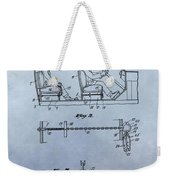 Handcuffs Law Enforcement Patent Weekender Tote Bag