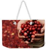 Handful Of Fresh Cranberries Weekender Tote Bag