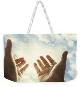 Hands In Sky Weekender Tote Bag
