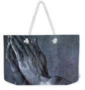 Hands Of An Apostle 1508 Weekender Tote Bag by Philip Ralley