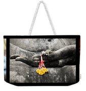 Hands Of Buddha Weekender Tote Bag