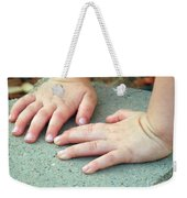 Hands Of Our Future Weekender Tote Bag