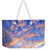 Hands Up To The Sky Showing Happiness Weekender Tote Bag by Michal Bednarek