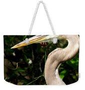 Handsome Heron Weekender Tote Bag