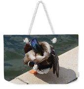 Handsome Mallard Weekender Tote Bag