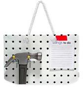 Handyman Board Weekender Tote Bag
