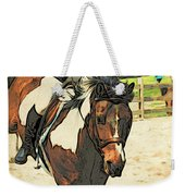 Hang On To Your Painted Horse Weekender Tote Bag