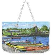 Hanga Roa Harbour Weekender Tote Bag