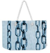 Hanged Chains Weekender Tote Bag by Carlos Caetano