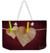Hanged Heart Weekender Tote Bag
