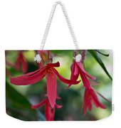 Hanging Asian Lillies Weekender Tote Bag