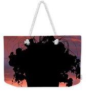 Hanging Basket Silhouette Weekender Tote Bag