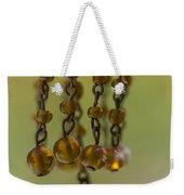 Hanging Beaded Votive Abstract  3 Weekender Tote Bag